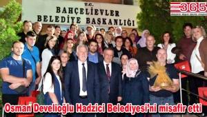 Bahçelievler Belediyesi Bosnalı kardeşlerini ağırladı