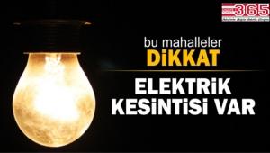 Bahçelievler ve Bağcılar'da 3 gün elektrik kesintileri olacak