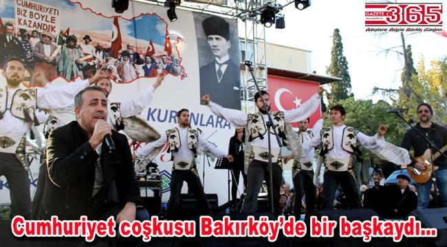 Bakırköy'de Haluk Levent coşkusu yaşandı