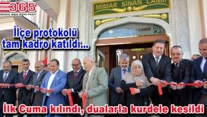 Mimar Sinan Camii ve Kur-an Kursu yoğun katılımla açıldı