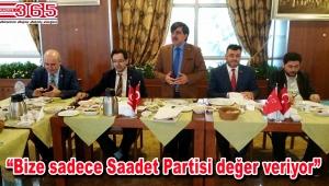 Saadet Partisi Bağcılar İlçe Teşkilatı muhtarlarla buluştu
