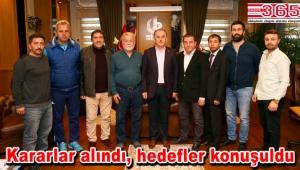 Bağcılar Amatör Spor Kulüpleri Birliği'nde görev dağılımı yapıldı