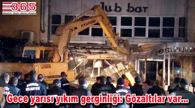 Bakırköy Spor Vakfı Sosyal Tesisleri yıkıldı