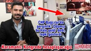 CHP Bağcılar'da Gençlik Kolu'nun kapısına kilit mi vuruldu?