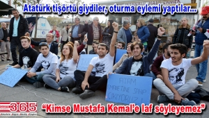 CHP'li gençler o okul müdürünü protesto etti