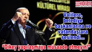 """Cumhurbaşkanı Erdoğan: """"Bizim anlayışımızda yatay mimari esastır"""""""