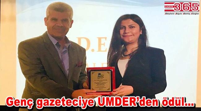 Gazeteci Sibel Gülersöyler 'Altın Kalem Ödülü'ne layık görüldü