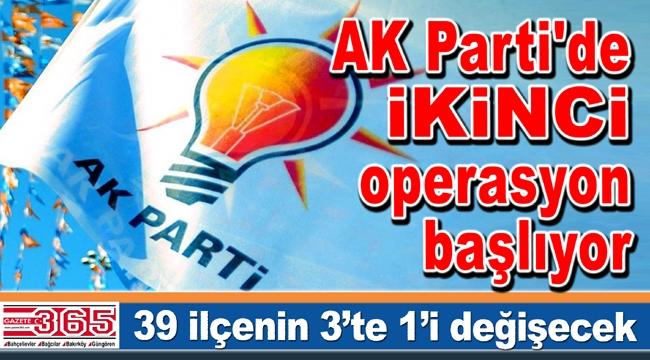 'İstanbul'da operasyon; 39 ilçenin üçte biri değişecek…'