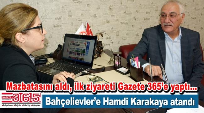İYİ Parti Bahçelievler İlçe Başkanı Av. Hamdi Karakaya oldu