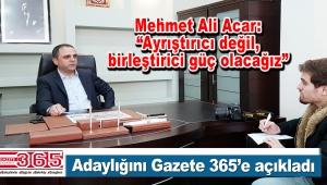 Mehmet Ali Acar CHP Bahçelievler İlçe Başkanlığına aday oldu