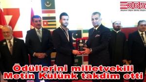 Uluslararası kongrede Eminevim'e ödül…
