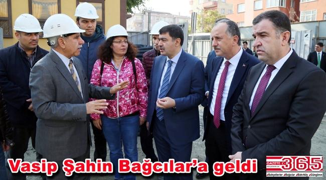 Vali Şahin Bağcılar Hükümet Konağı inşaatını inceledi