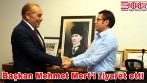 Atatürk'ün ünlü benzerinden İYGAD Genel Merkezi'ne ziyaret…
