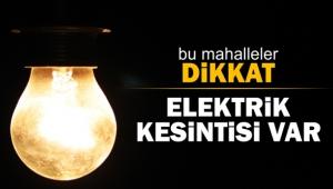Bağcılar ve Güngören'de 3 gün elektrik kesintileri olacak