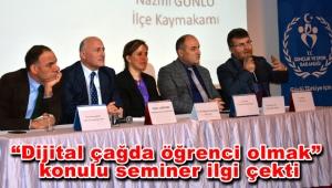Bakırköy'de öğrenciler ve uzmanlar teknoloji bağımlılığını konuştu