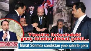 CHP Bağcılar İlçe Başkanı Murat Sönmez güven tazeledi