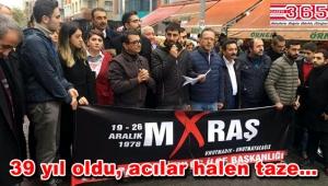 CHP Bahçelievler gençliği 'Maraş Katliamı'nı unutmadı