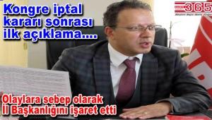 CHP Bahçelievler İlçe Başkanı Mehmet Ali Özkan'dan açıklama geldi