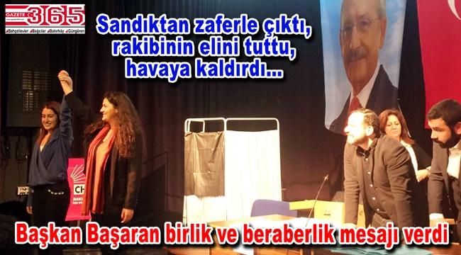 CHP Bakırköy Gençlik Kolu Başkanlığı'na Gizem Başaran seçildi