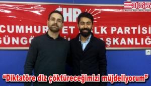 CHP Güngören Gençlik Kolu Başkanlığı'na Zeki Can Bakır seçildi