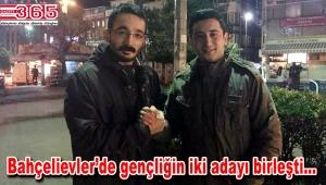 Emre Can Huday CHP Bahçelievler Gençlik Kolu Başkanlığı'na aday oldu