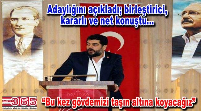 Hüseyin Konuk CHP Güngören İlçe Başkanlığı'na adaylığını açıkladı