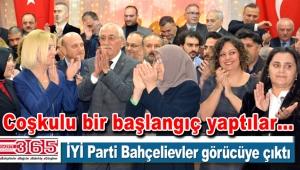 İYİ Parti Bahçelievler Teşkilatı tanışma yemeği düzenledi