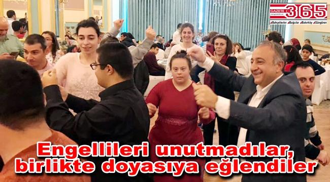 İYİ Parti Bakırköy Teşkilatı Engelliler Günü'nü kutladı