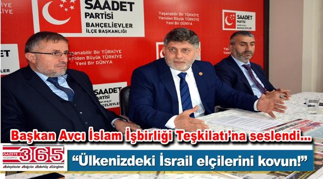Saadet Partisi Bahçelievler Teşkilatı gazeteciler ve muhtarlarla buluştu