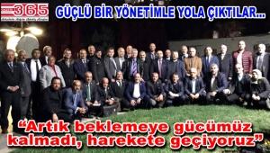 Tüm İstanbul Muhtar Dernekleri Federasyonu'nda görev dağılımı yapıldı