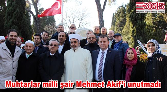 TÜMFED vefatının 81'inci yılında Mehmet Akif Ersoy'u mezarı başında andı