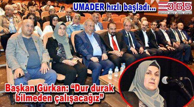 Zeynep Gürkan UMADER'in Genel Başkanı oldu