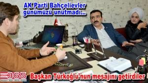 AK Parti Bahçelievler Gazete 365 Ailesi'nin 'Gazeteciler Günü'nü kutladı