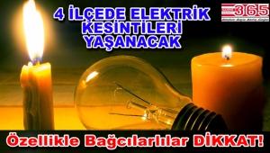 Bahçelievler, Bağcılar, Bakırköy ve Güngören'de elektrik kesintisi…
