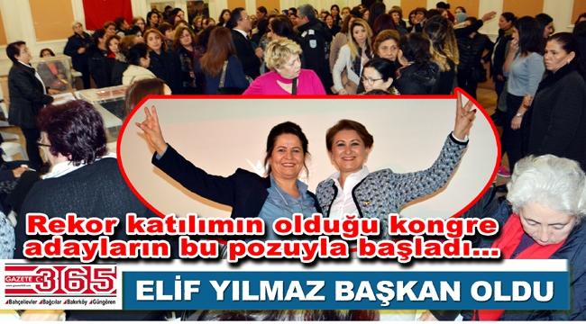 CHP Bahçelievler Kadın Kolu Başkanlığı'na Elif Yılmaz seçildi