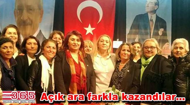 CHP Bakırköy kadınları; 'Nebahat Civan' dedi
