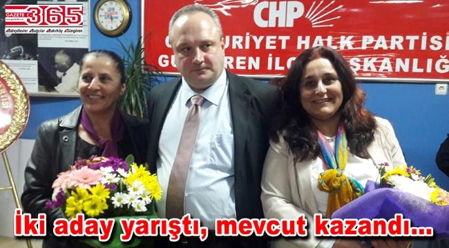 CHP Güngören Kadın Kolu Başkanı Meral Güneş güven tazeledi