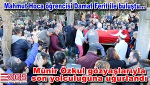 Duayen sanatçı Münir Özkul Bakırköy'de toprağa verildi