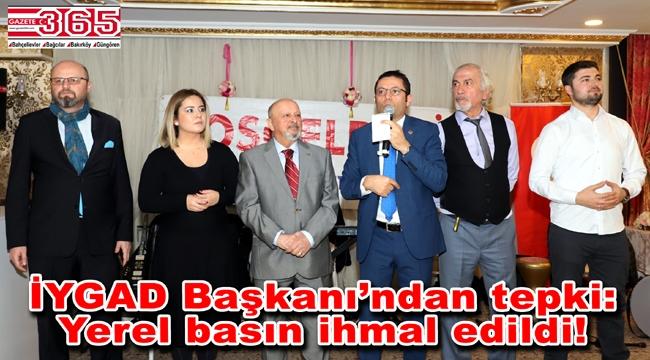 İYGAD Başkanı Mehmet Mert yerel gazeteciliğin durumunu yorumladı