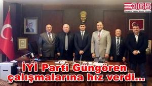 İYİ Parti Güngören Teşkilatı ilçede ziyaretlerini sürdürüyor