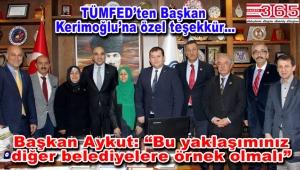 Muhtarlar Federasyonu'ndan Başkan Kerimoğlu'na ziyaret...