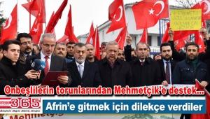 TOKKON üyeleri Afrin'e gitmek için Bahçelievler'de dilekçe verdi
