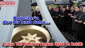 Azerbaycan Dostluk Parkı ve 'Hocalı Katliamı Anıtı' dualarla açıldı
