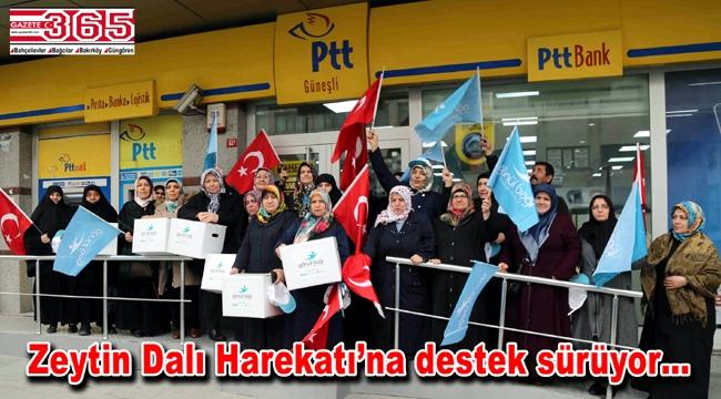 Bağcılarlı kadınlar Mehmetçik için kışlık giyecek ördü