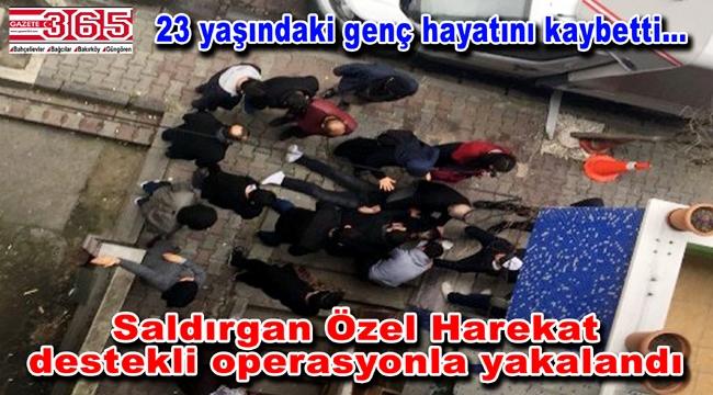 Bahçelievler'de silahlı saldırı: Şahıs operasyonla yakalandı