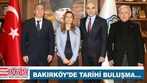 Bakırköy'de AK Parti, CHP ve MHP aynı masaya oturdu