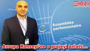 Başkan Kerimoğlu, Avrupa Konseyi'ne 'Bakırköy Çocuk Masası'nı anlattı