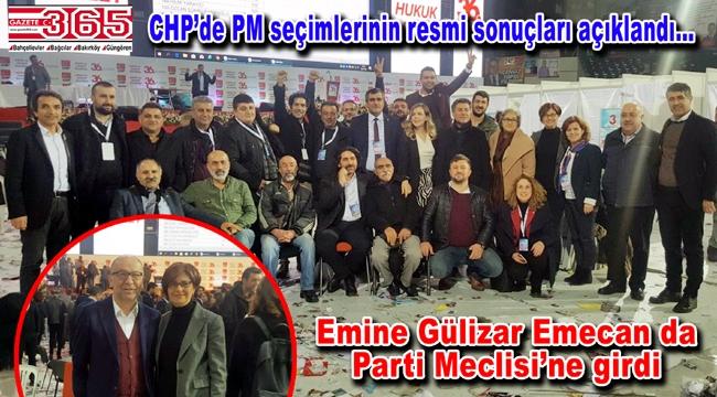 Emine Gülizar Emecan CHP PM Üyesi seçildi