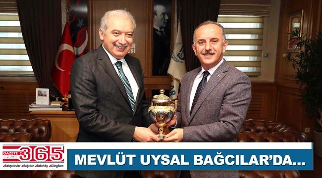 İBB Başkanı Mevlüt Uysal Bağcılar Belediyesi'ni ziyaret etti