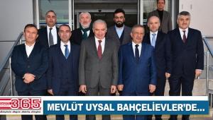 İBB Başkanı Mevlüt Uysal Bahçelievler'i ziyaret etti